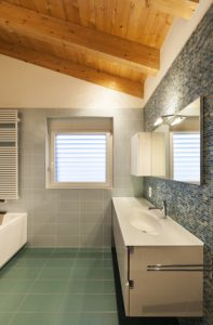 interior modern bathroom view