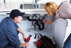 Professional plumber.
