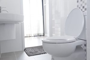 replace toilet new toilet